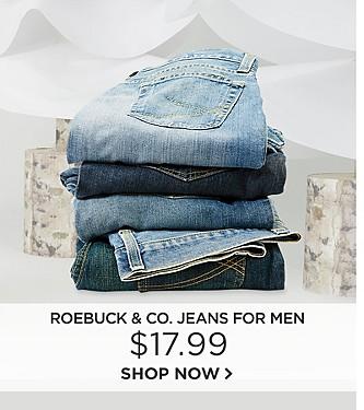 $17.99 Roebuck & Co. Jeans for men