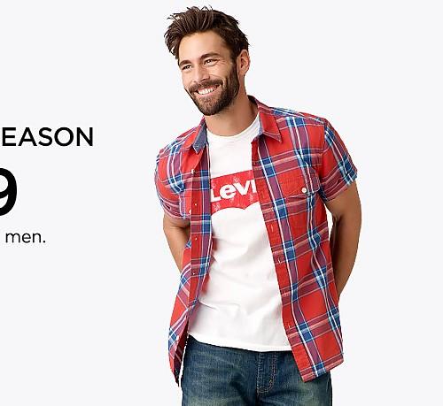LEVI'S LOWEST PRICE OF THE SEASON $39.99 Sale Levi's® 505™ Original Fit jeans for men . Reg 59.50. Ends 4/16