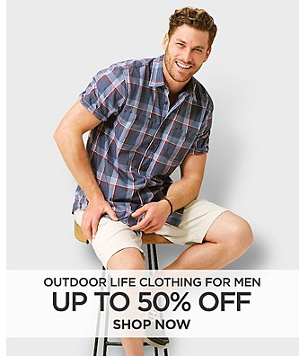 Up to 50% off Outdoor Life clothing for men. Shop Now