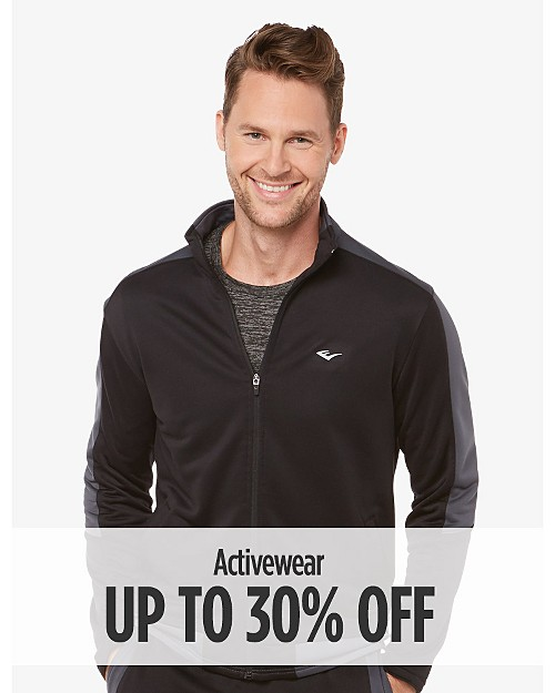 Up to 30% off Activewear