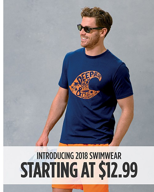 Introducing 2018 Swimwear - Starting at $12.99. Shop now