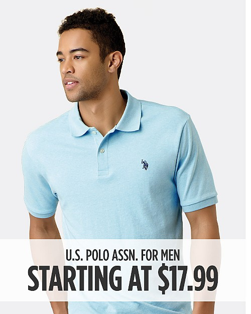 U.S. Polo Assn. Starting at $17.99. Shop now