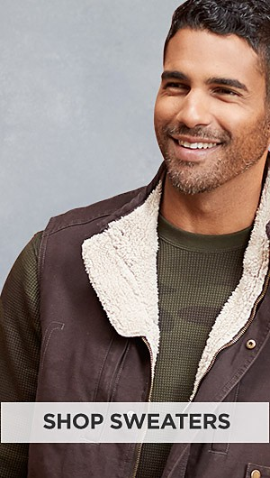 Up to 70% off Winter Clothing for Him. Shop Sweaters