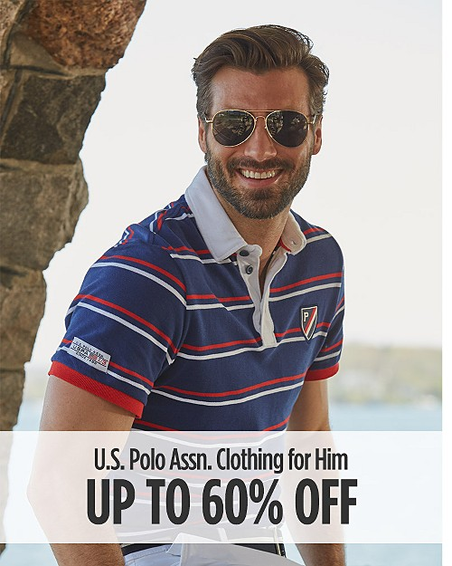 Up to 60% off U.S Polo Assn Clothing