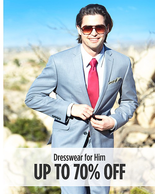 Up to 70% Off Dresswear For Him