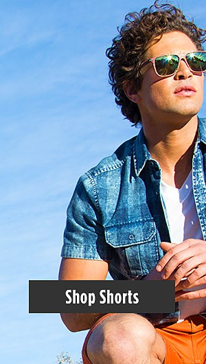 Up to 50% Off Spring Arrivals for Him. Shop Shorts