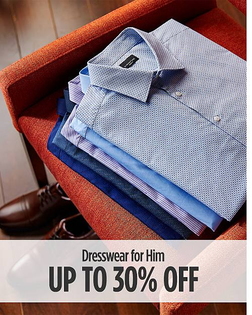 Up to 30% Off Dresswear for Him