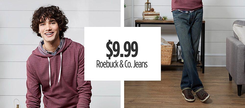 $9.99 Men's Roebuck & Co Jeans
