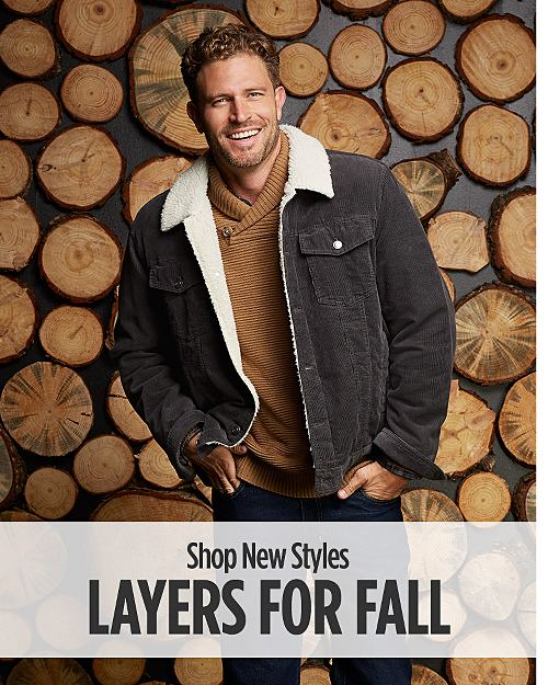 Layers for Fall! Shop new styles