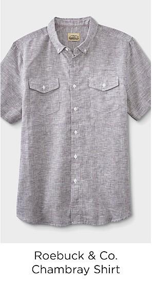 Roebuck & Co. Young Men's Chambray Shirt