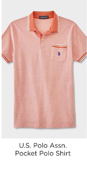 U.S. Polo Assn. Men's Pocket Polo Shirt