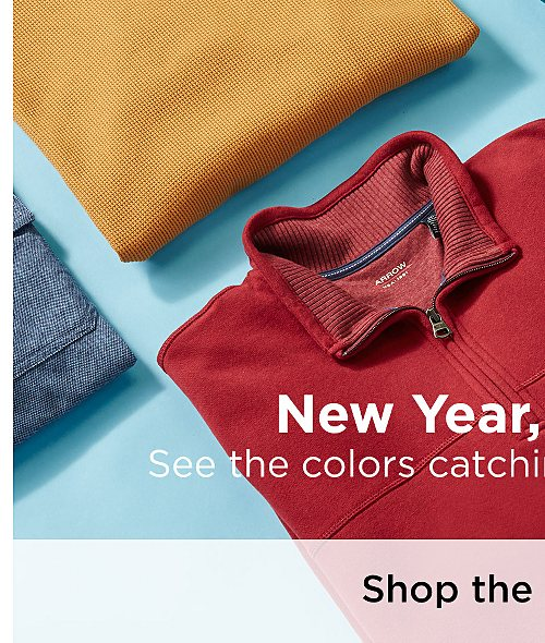 New Year, New Hues! See the colors catching our eye this month. Shop the Collection