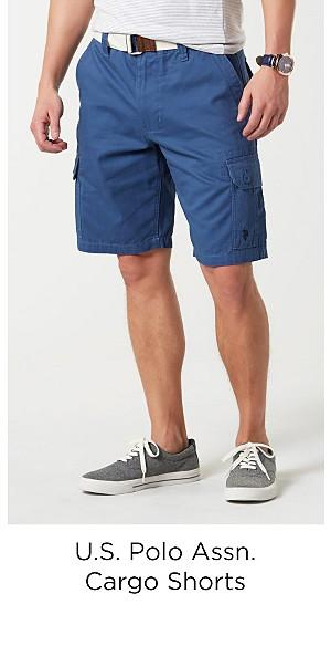 U.S. Polo Assn. Men's Cargo Shorts