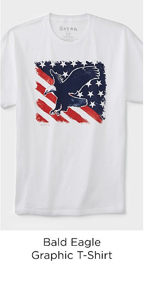 Men's Graphic T-Shirt - Bald Eagle