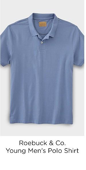 Roebuck & Co. Young Men's Polo Shirt