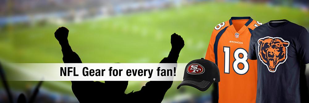 NFL gear for every fan