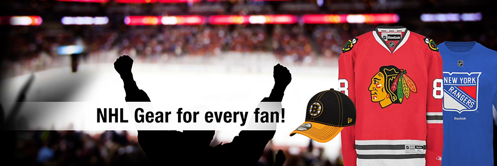 NHL gear for every fan