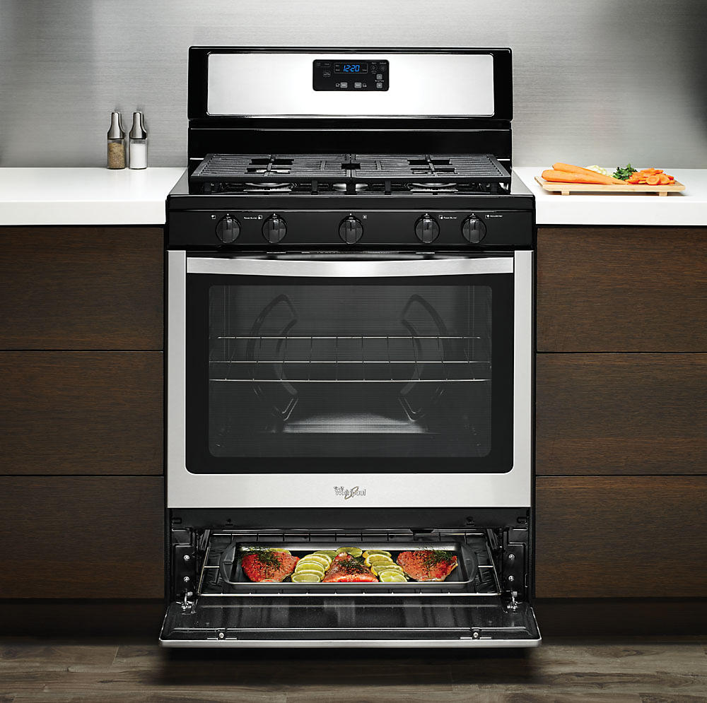 Countertop Stove Sears : Product Insights: Whirlpool Freestanding Gas Ranges