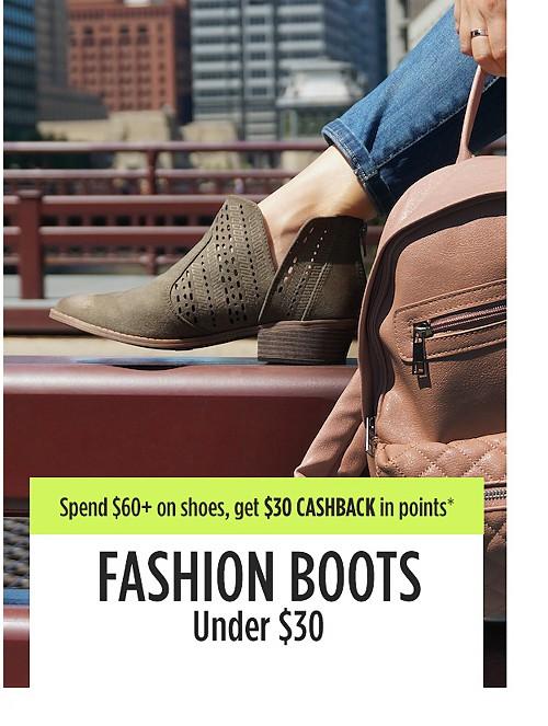 Fashion boots under $30