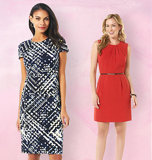Petite Dresses&#x3b; Fitted&#x3b; Sheath&#x3b; Date night&#x3b; Valentine's Day Dresses