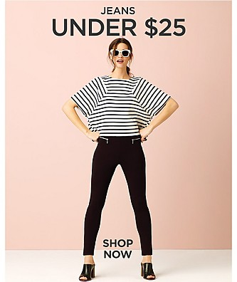 Jeans under $25