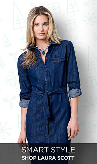 Laura Scott Petite Clothing for Women, Coats, Tops, Jeans, Blouse