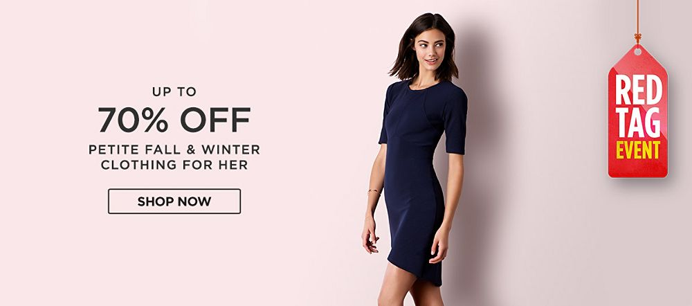 Up to 70% Off Petite Fall & Winter Fashions for Her. Shop now