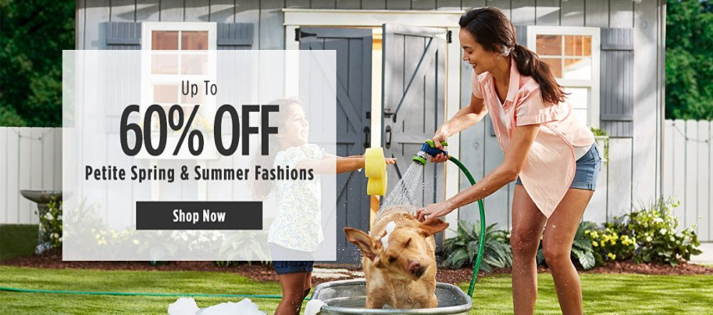 Up to 60% Off Petite Spring & Summer Fashions