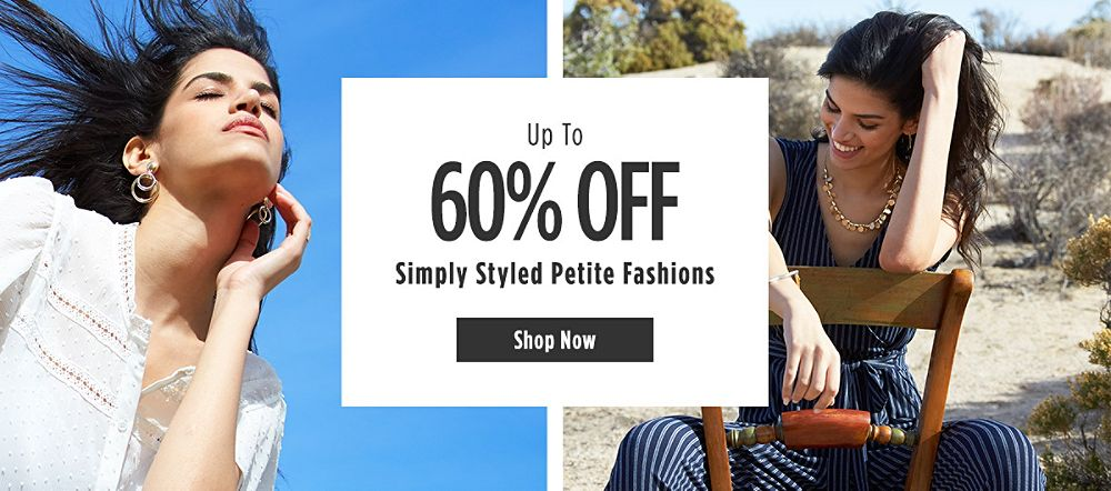 Up to 60% off Simply Styled Petite Fashions