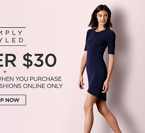 Simply Styled Under $30 + Extra 10% off when you purchase Women's Fall fashion online only