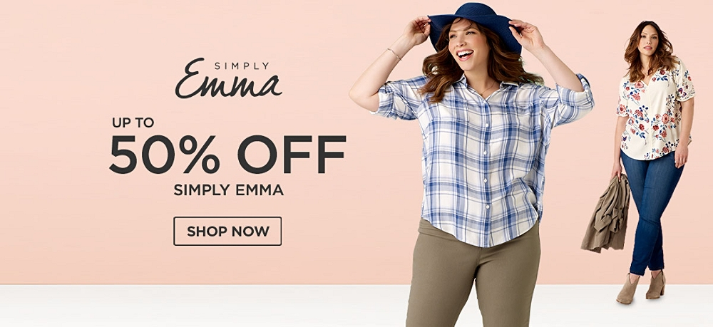 Up to 50% off Simply Emma