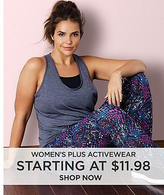 Activewear starting at $11.98