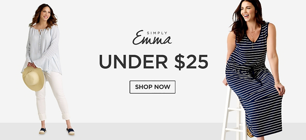 Simply Emma under $25