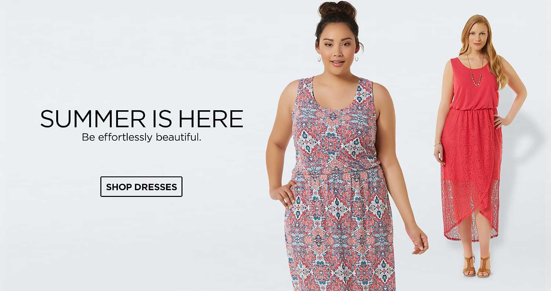 Shop Plus Dresses