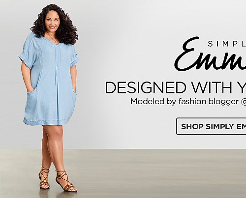 Simply Emma&#x3b; Women's Plus Dresses&#x3b; Plus Tops&#x3b; Plus Denim&#x3b; Plus Dresses&#x3b; Plus Trends