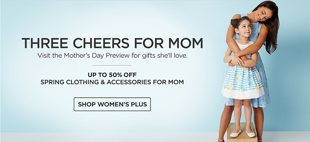 Mother's Day Preview. Up to 50% off Spring Clothing and Accessories for Mom
