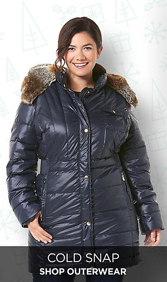 Plus Size Women's Outerwear