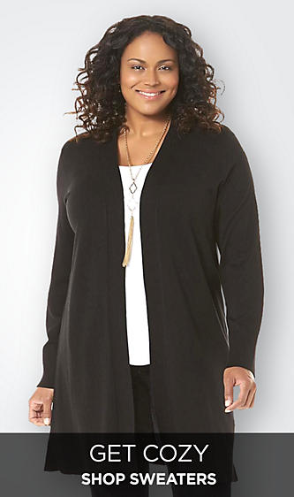 Women's Plus Sweaters