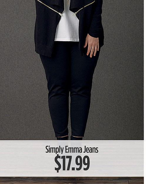 $17.99 Simply Emma Jeans