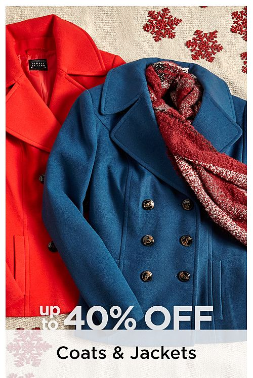 Up to 40% Off Plus Size Coats & Jackets
