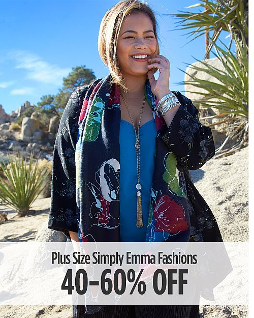 40-60% Off Simply Emma Fashions for Her