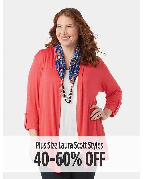 40-60% Off Plus Size Laura Scott Styles