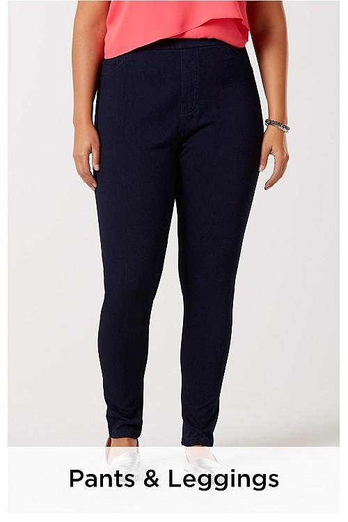 Plus Size Pants & Leggings