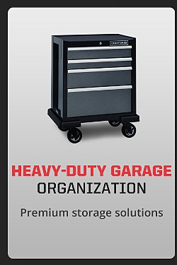 Heavy-Duty Garage Organization