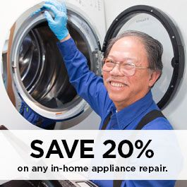 20% off appliance repair