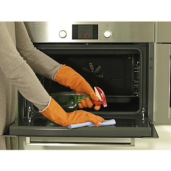 how to clean a flity oven