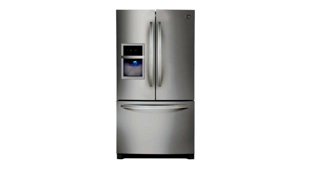 Kenmore  26.7 cu. ft. French Door Bottom-Freezer Refrigerator - Stainless Steel