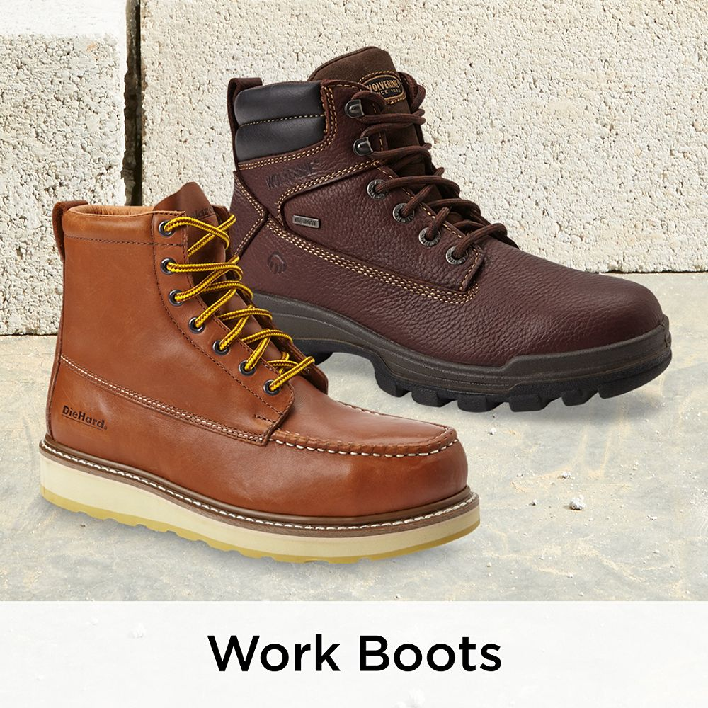 Men's Work Boots & Shoes Sears