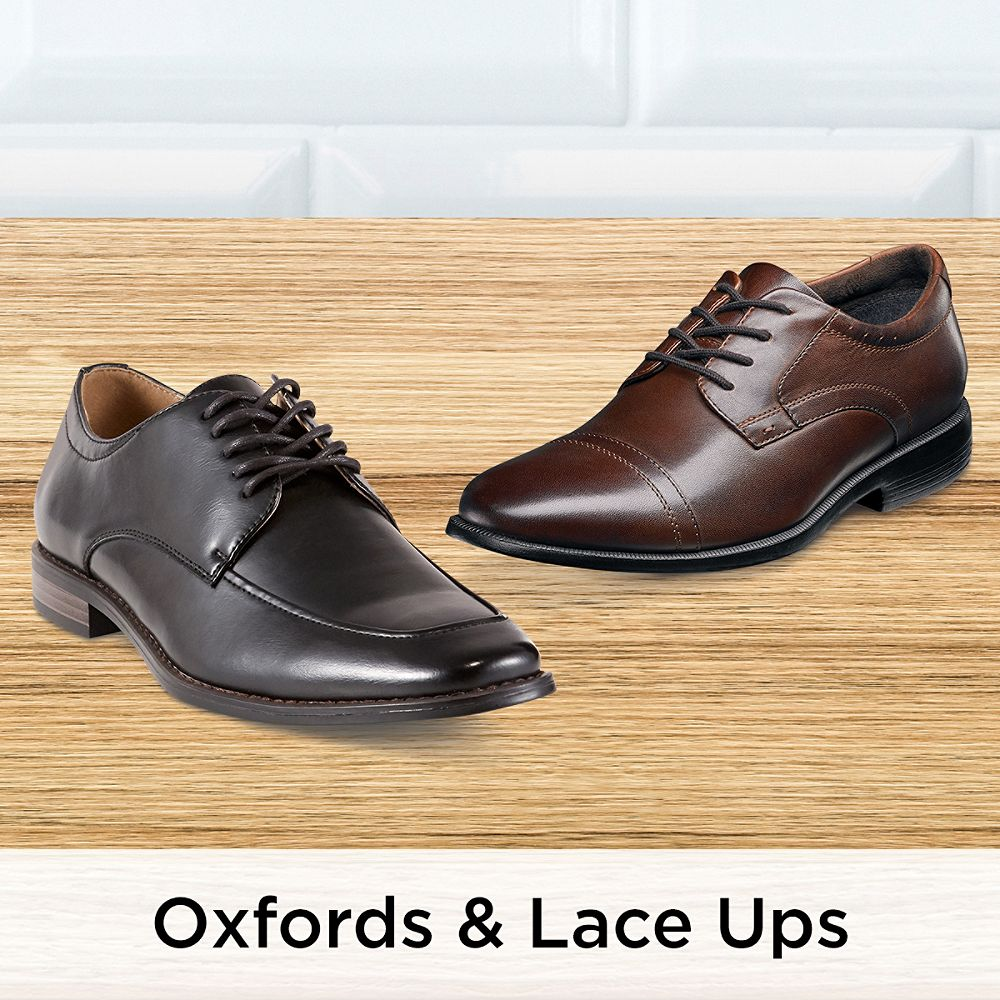 Men's Oxfords & Lace Ups