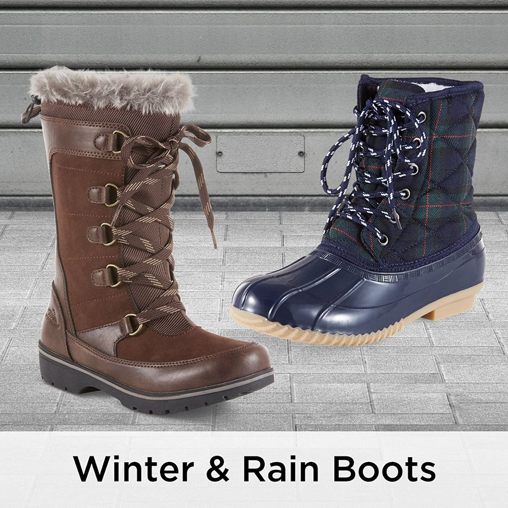Winter & Rain Boots